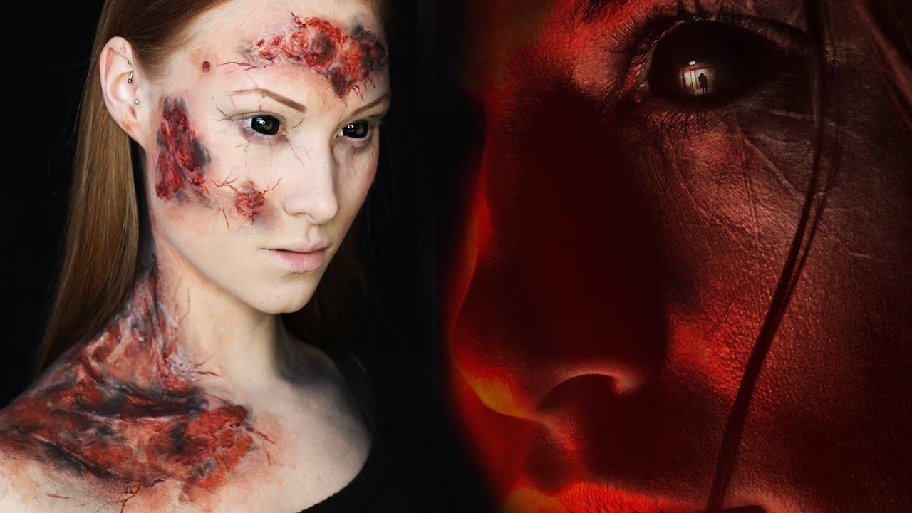 Pop art zombie makeup tutorial   saubhaya makeup.