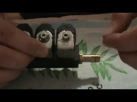 Чистка форсунок гбо 4 поколения своими руками видео