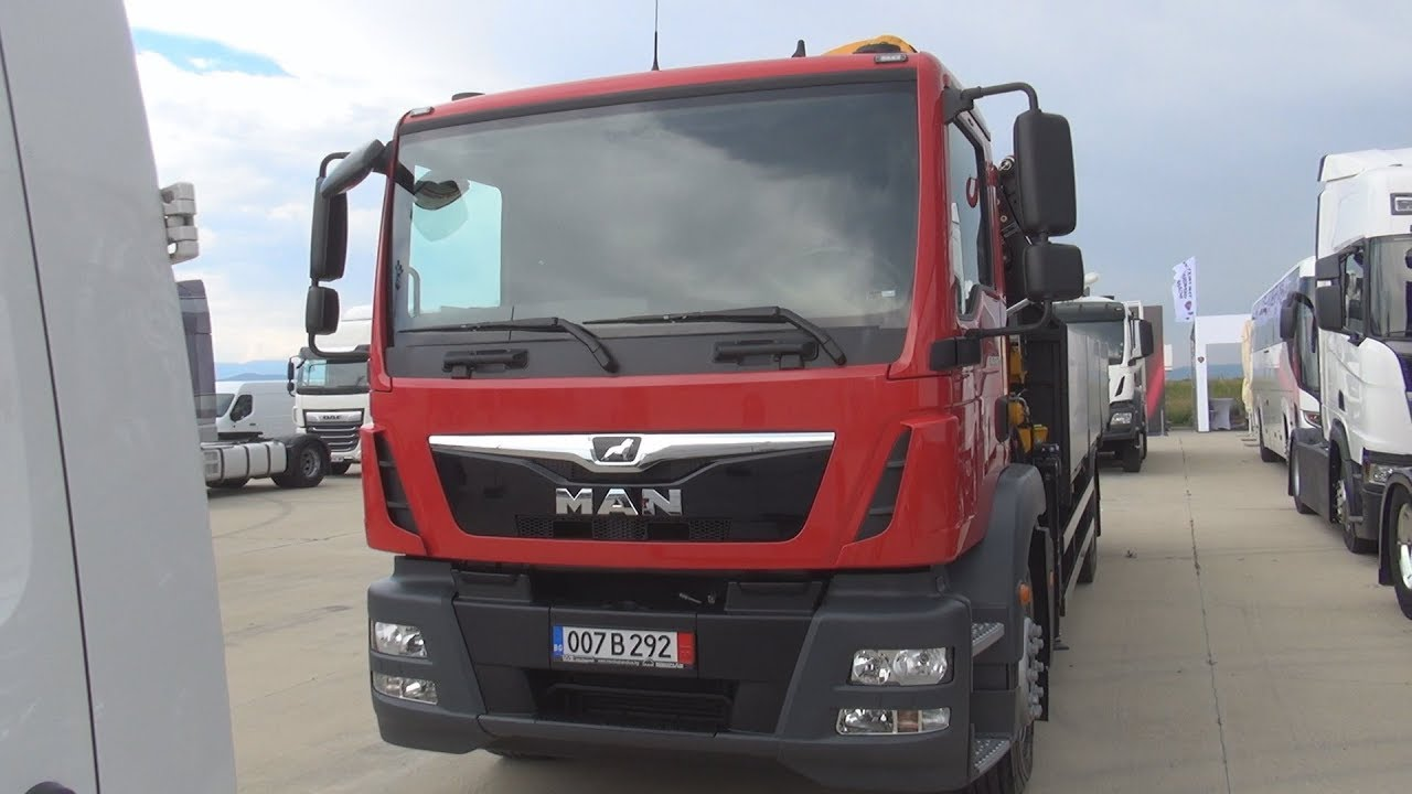 MAN TGM 18 250 Tipper Truck (2018) Exterior and Interior