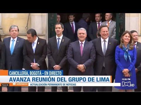 Así transcurrió la cumbre del Grupo de Lima en la que se hablará sobre Maduro