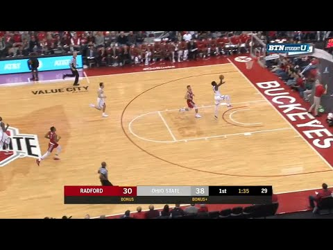 Kam Williams Steal and Slam vs. Radford