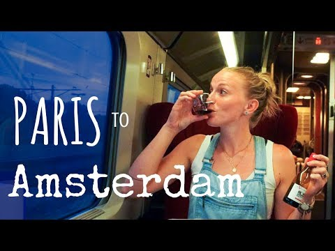 How to get from Paris to Amsterdam!