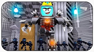 Becoming King Of The Server - Roblox Robot Simulator