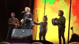Ed Sheeran with Beoga - Nancy Mulligan & Galway Girl @ Roundhay Park, Leeds 16/08/19