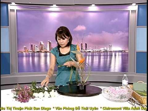 VNTV Floral Design - Nghệ Thuật Cắm Hoa: Bình Hoa Thể Loại Ikebana