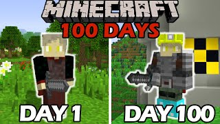 I Survived 100 Days in the Nuclear Age in Minecraft