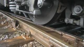 Wheel slip ! Tamara TEM2 nie daje rady! -poślizg lokomotywy!