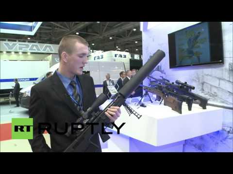 Russia: VKS sniper rifle showcased at Interpolitex 2015