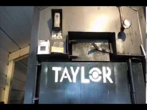 Taylor Boiler Door Gasket Repair Youtube