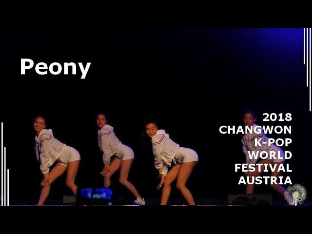[2018 ChangFe Austria Finals] Peony / HyunA (현아) - Lip & Hip, CHUNG HA (청하) - Rollercoaster