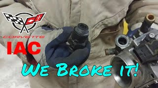 Corvette C4 IAC and Detent L98 B&S Customs Idle Air Controller