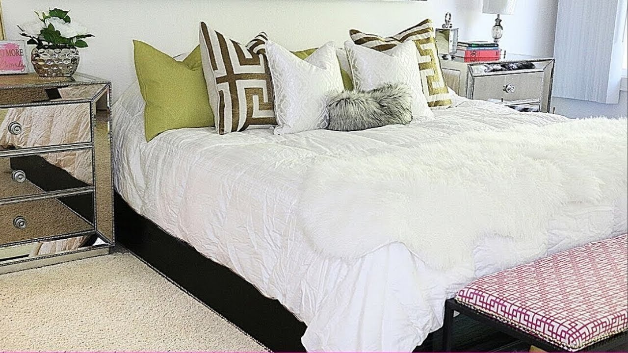 Bench for bedroom Blue Diy Bedroom Bench Bedroom Makeover Youtube Diy Bedroom Bench Bedroom Makeover Youtube