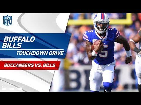 Buffalo's Powerful Ground Game Guides Them on Big TD Drive! | Bucs vs. Bills | NFL Wk 7 Highlights