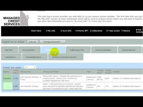 Managed Credit Services Overview