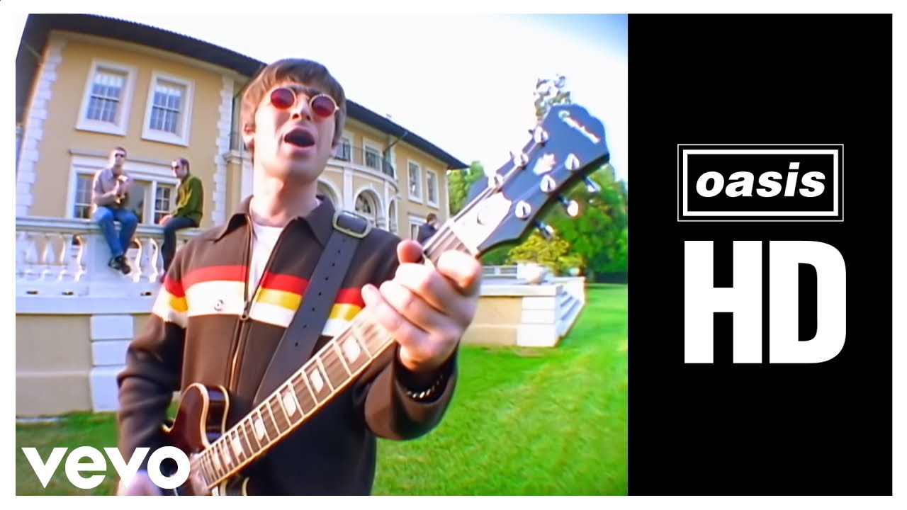 Oasis Live Forever Official Video Youtube