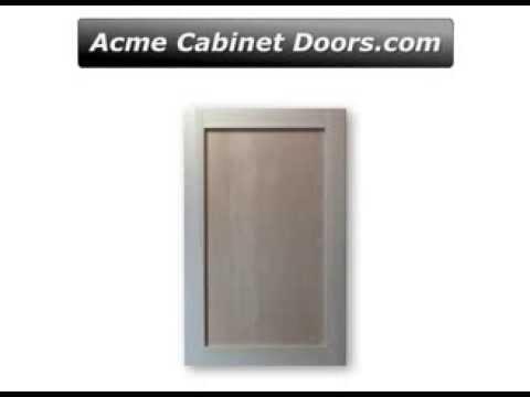 Poplar Frame With Plywood Panel Shaker Cabinet Door   YouTube