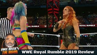 WWE Royal Rumble 2019 Full Show Review w/ Vince Russo & Jeff Lane