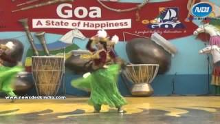 Cultural Dance By Uzbek Dancers At Surajkund Crafts Mela 2014