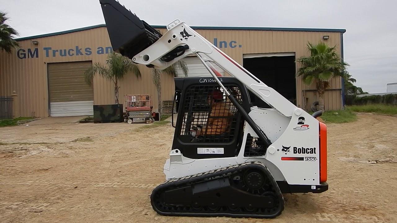 GM106622-2014 BOBCAT T550 CRAWLER SKID STEER
