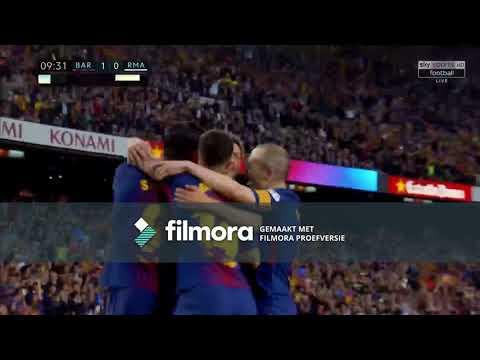 Barcalona - Real madrid  2-2 Full Match 06 / 05 / 2018 !!