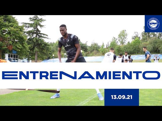ENTRENAMIENTO | 13 de septiembre | Deportivo Alavés