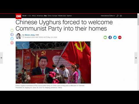 Chinese Uyghurs Forced To Welcome Communist Party Into Their Homes