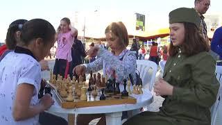 Торжества в честь Великой Победы в Пущине