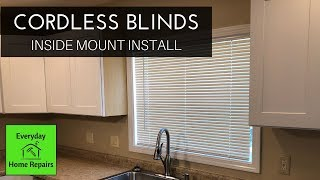 How to Install Window Blinds | Cordless