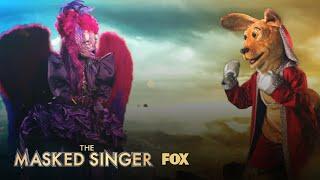 The Clues: Night Angel Vs. Kangaroo | Season 3 Ep. 11 | THE MASKED SINGER