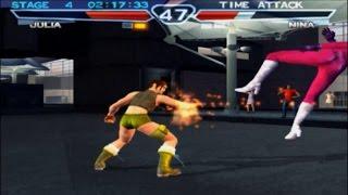 Tekken 4: Time Attack Mode - Julia Chang thumbnail