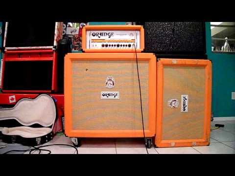 Guitar 4x12  VS 2x12's *Cab Comparison*  (Orange Cabs)