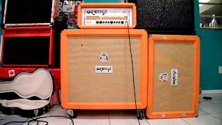 Guitar 4x12 VS 2x12's Cab Comparison (Orange Cabs)