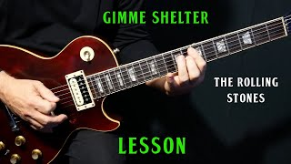 """how to play """"Gimme Shelter"""" on guitar by The Rolling Stones 