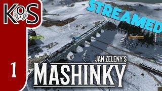KoS LIVESTREAM - Mashinky, Part 1 - ALPHA First Look - Gameplay