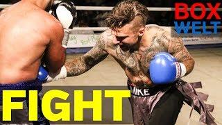 Mike Jaede vs Josef Holub - 6 rounds middleweight - 26.05.2018 - Brückentorsaal Rinteln