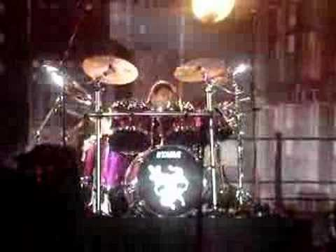 Roger Taylor Duran Duran Drum Solo - Central Park