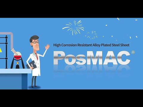 [PosMAC][EN] POSCO Magnesium Aluminium Alloy Coating Product