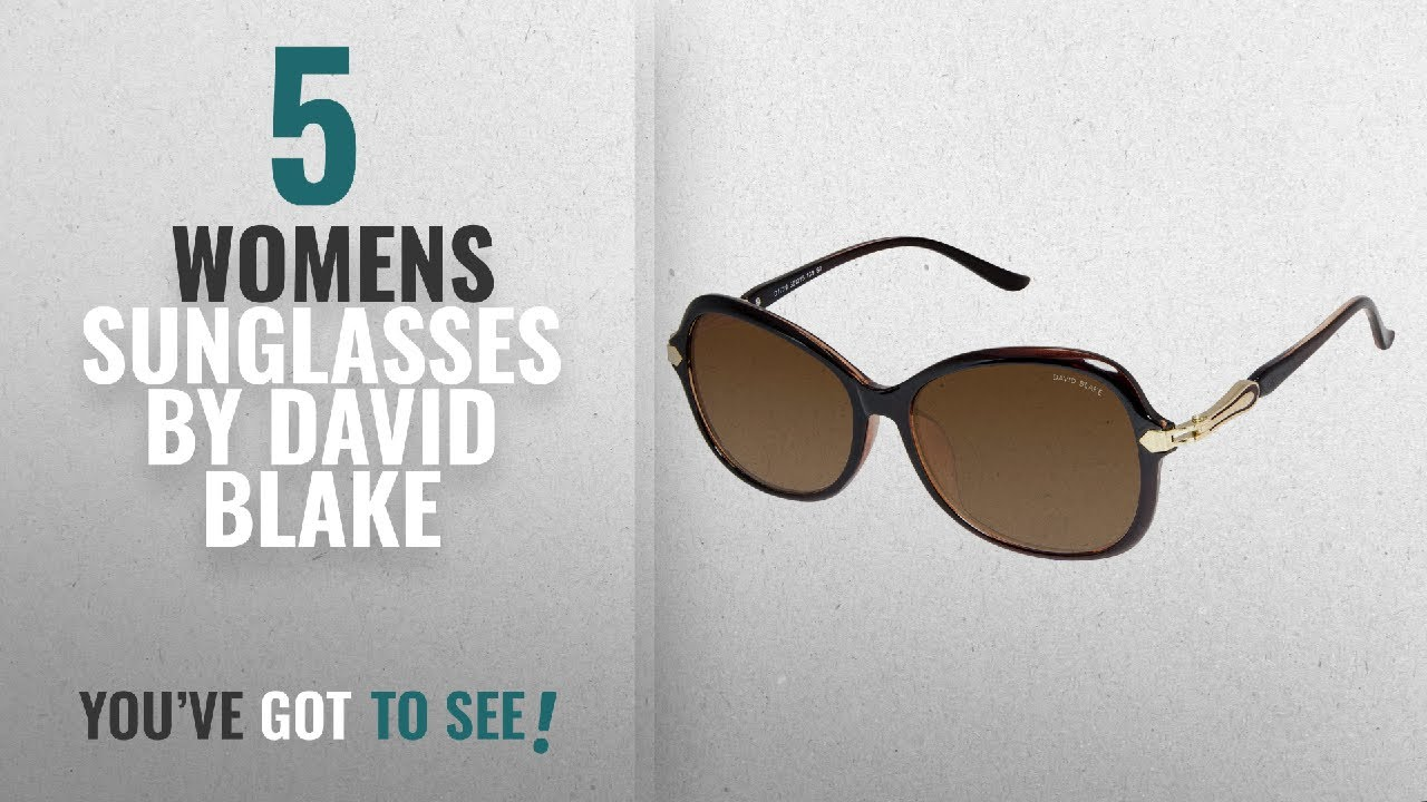 7073c68a071 Top 10 David Blake Womens Sunglasses  2018   David Blake UV Protected  Oversized Women s Sunglasses
