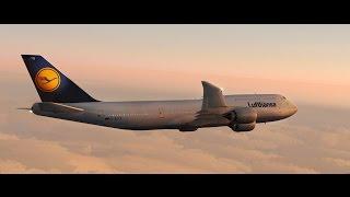FSX Timelapse | Frankfurt to Tokyo Long Haul | Lufthansa 747-8i