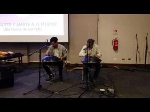 Música de hang con Carlos Gutierrez