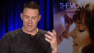 Channing Tatum - The Vow Interview with Tribute