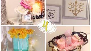 DIY Ideas baratas para decorar tu habitación!