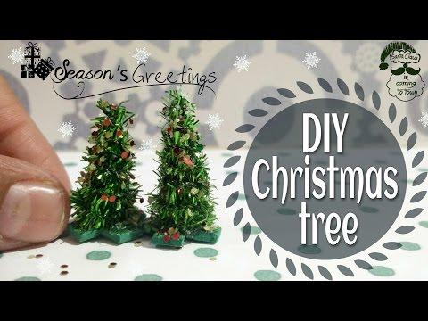 DIY Miniature Christmas Tree,Xmas Tree For Kids Christmas Decorations,DIY Mini Christmas Decorations