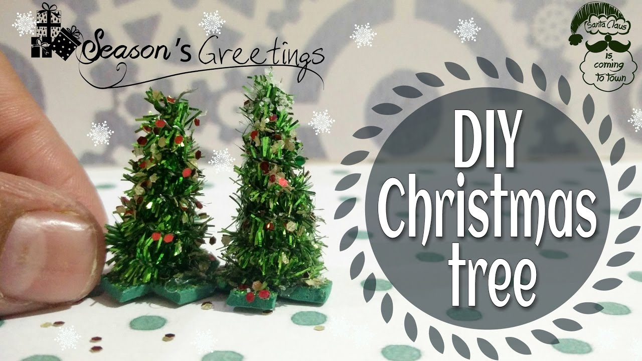 diy miniature christmas treexmas tree for kids christmas decorationsdiy mini christmas decorations