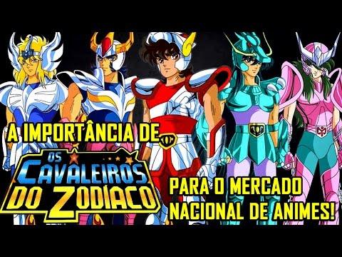 A importância de Cavaleiros do Zodíaco para o mercado nacional de animes!!!