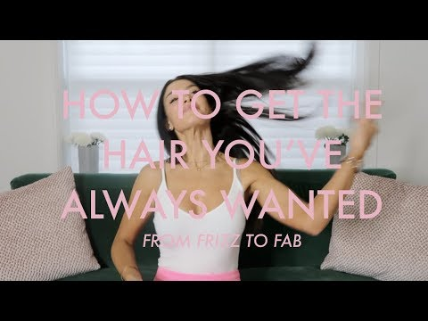 FROM FRIZZY TO FABULOUS! MY HAIR CARE ROUTINE & JOURNEY!