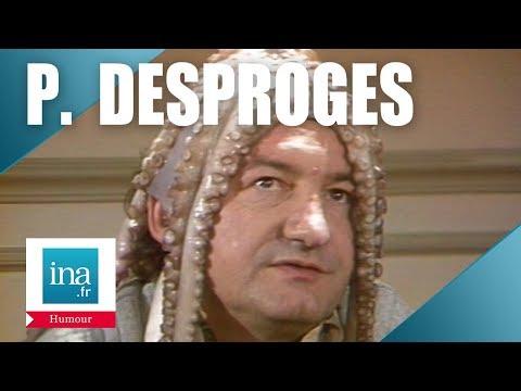 """Pierre Desproges """"Les poulpistes""""   Archive INA"""