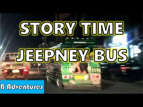 Getting Lost on a Jeepney in Mactan Philippines, Story Time