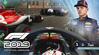 F1 2019 Gameplay - Monaco at Midnight