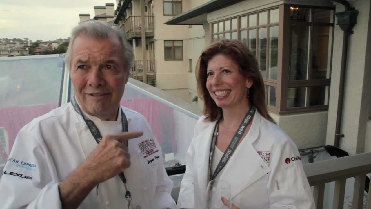 Pebble Beach: Jacques Pepin and Claudine Pepin - YouTube